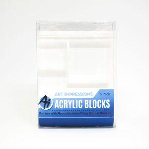 4773 Acrylic Block 5 Pack