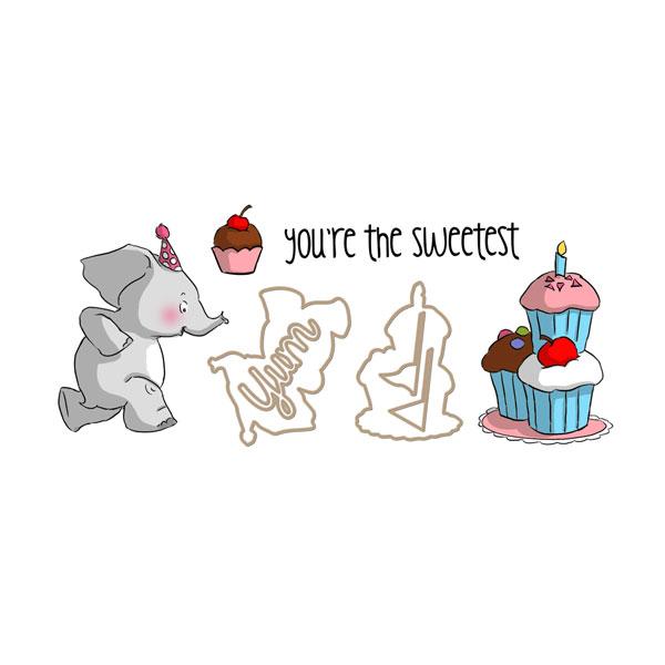 Elephant Slider Set