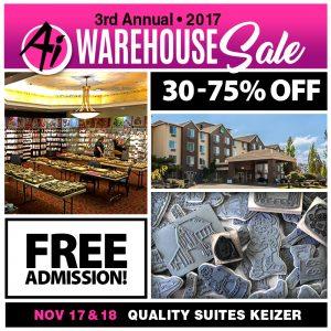 Warehouse Sale – Salem, OR