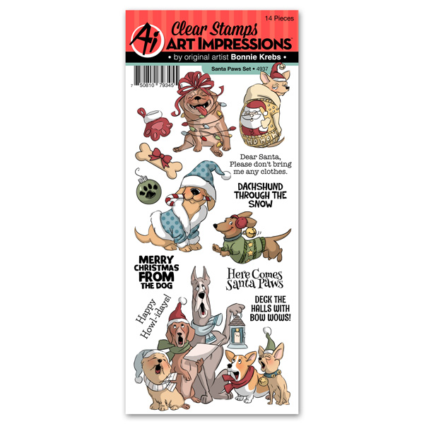 4937 - Santa Paws Set