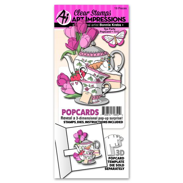 4942 - Tea Party PopCard