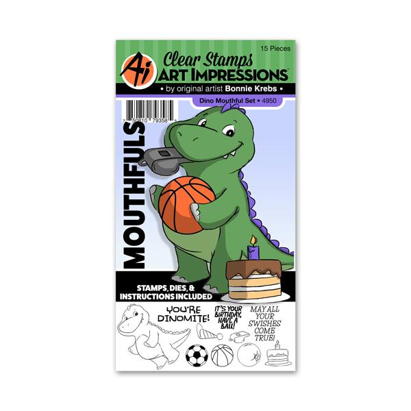 4950 - Dino Mouthful Set