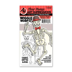 4952 - Skeleton Wiggle Wobble