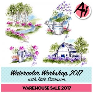WC202 – Watercolor Workshop 2018 with Kendra