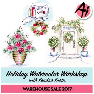 WC204 – Welcome Home Watercolor Workshop with Kendra