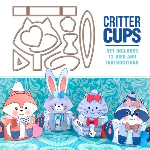4978 - Critter Cup Val/Eas Set