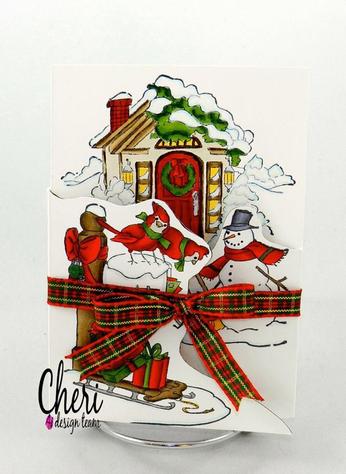 4687 - Christmas Scene TF