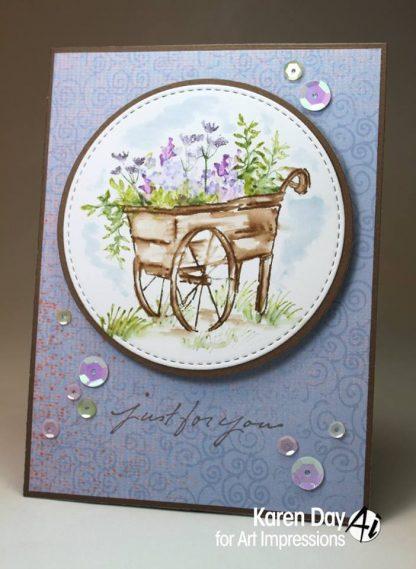 4703 - Flower Cart