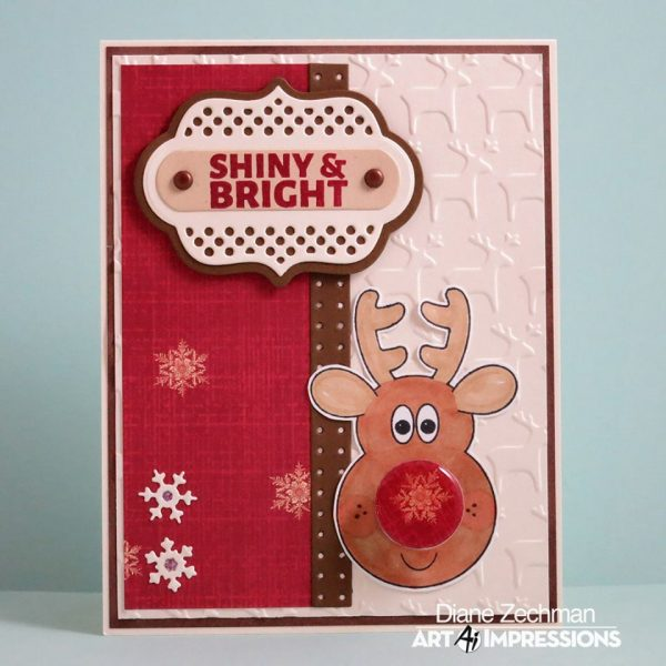 4800 - Reindeer Mini Shaker