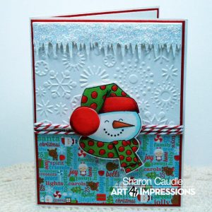 4799 - Snowman Mini Shaker