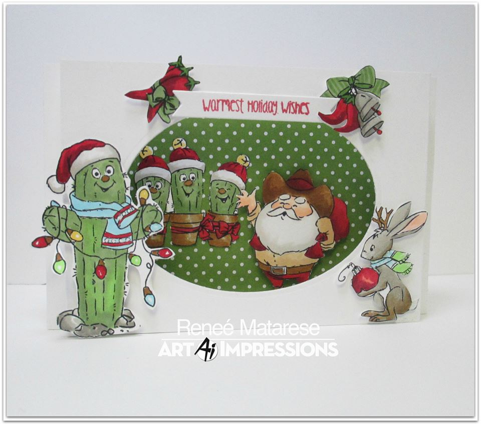 4787 – Southwest Christmas Set – Art Impressions