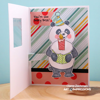 4860 - Panda PopCard