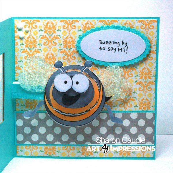 4857 - Bee PopCard