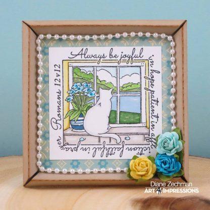 M4877 - Be Joyful Window
