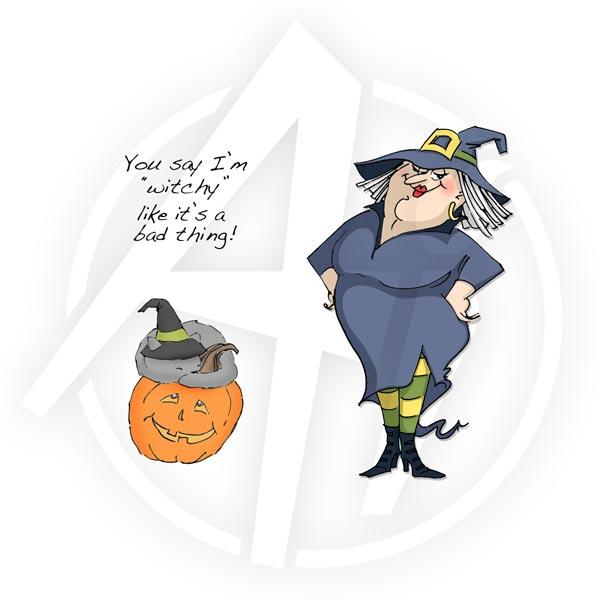 4311 - Witch Wanda Set