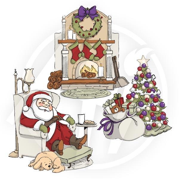 4341 - Sleepy Santa TF