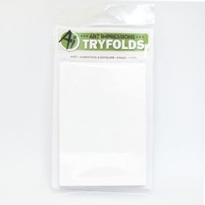 4457 - White - Cardstock & Envelope 8 Pack