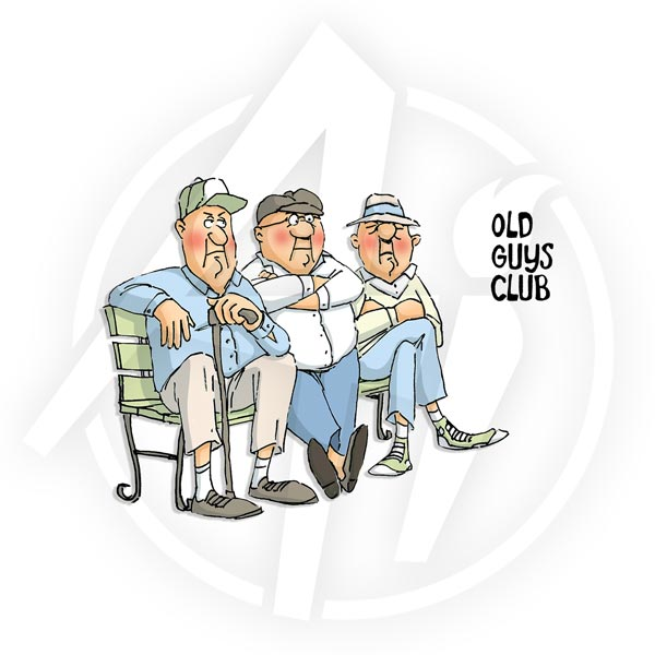 4474 - Old Guys Club Set