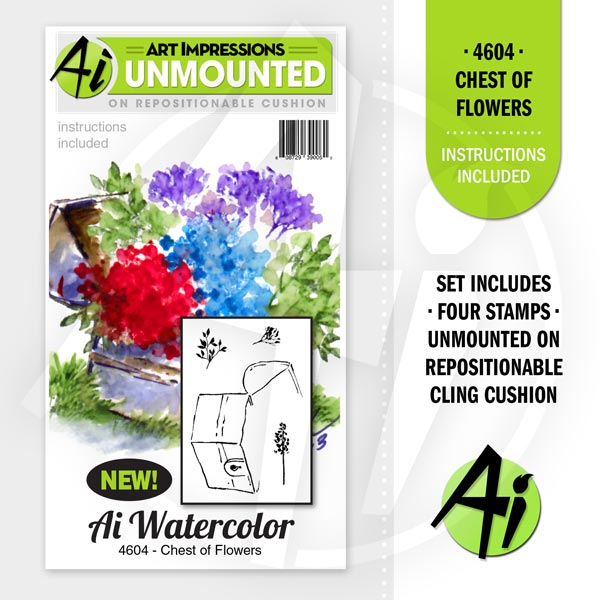 4604 - Chest of Flowers