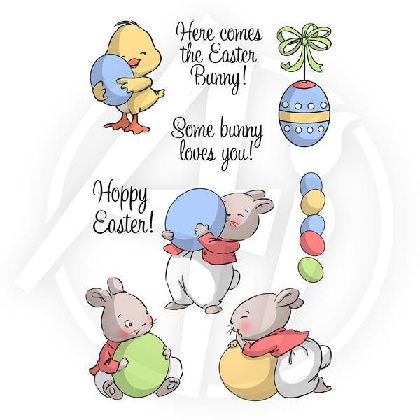 4754 - Hoppy Easter Set