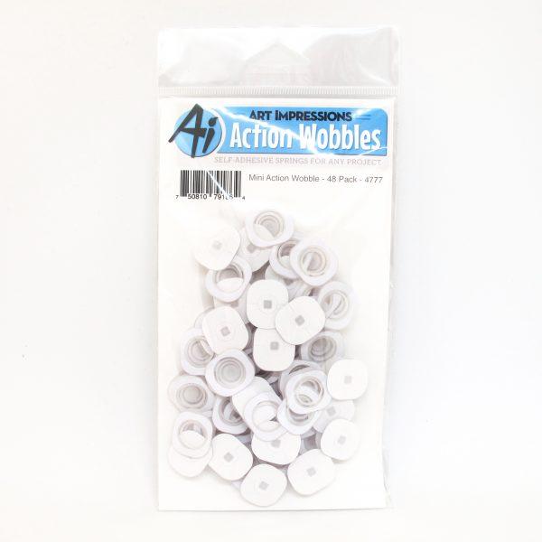 4777 - Mini Action Wobble 48 Pack