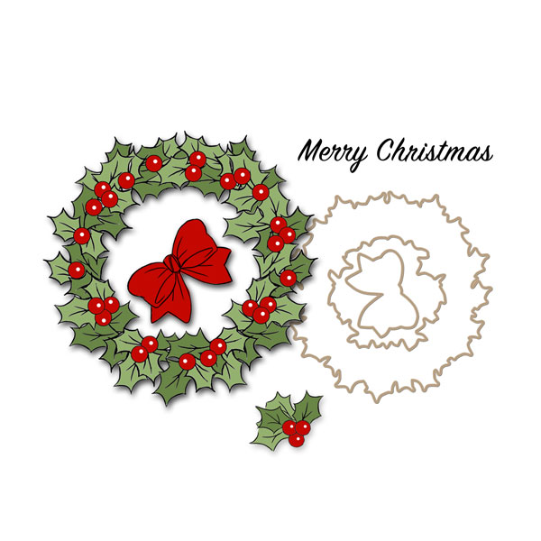 4791 - Christmas Wreath Set
