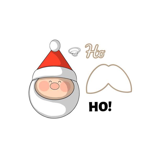 4798 - Santa Mini Shaker
