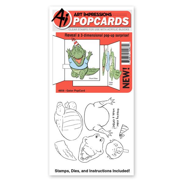 4858 - Gator PopCard