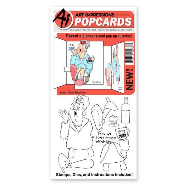 4859 - Oldie PopCard