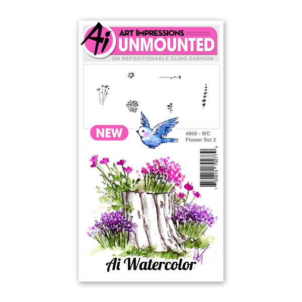 4868 - WC Flower Set 2
