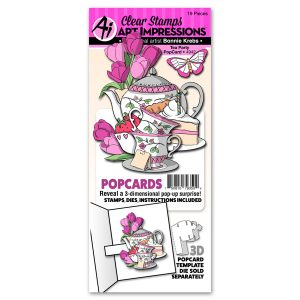 4942 - Tea Party PopCard