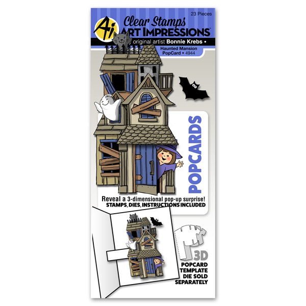 4944 - Haunted Mansion PopCard
