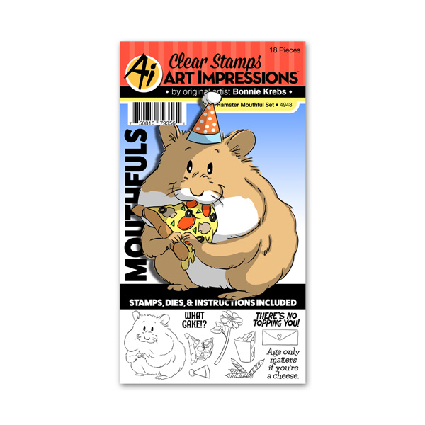4948 - Hamster Mouthful Set