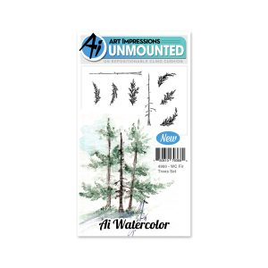 4960 - WC Fir Trees Set