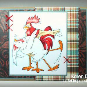 U1831 - Dancing Birdie & Scratch