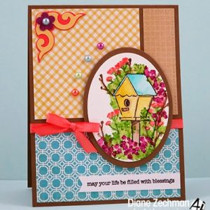 4603 - Blooming Birdhouse