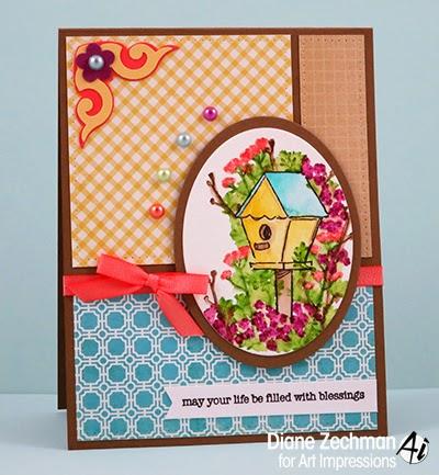 4603 - Blooming Birdhouse