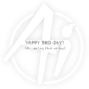 G1864 - Happy Bird-day