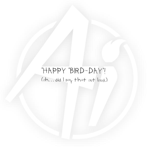 G1864 - Happy Bird-day