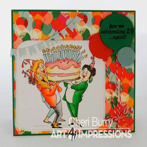 4382 - Giant Cake Set