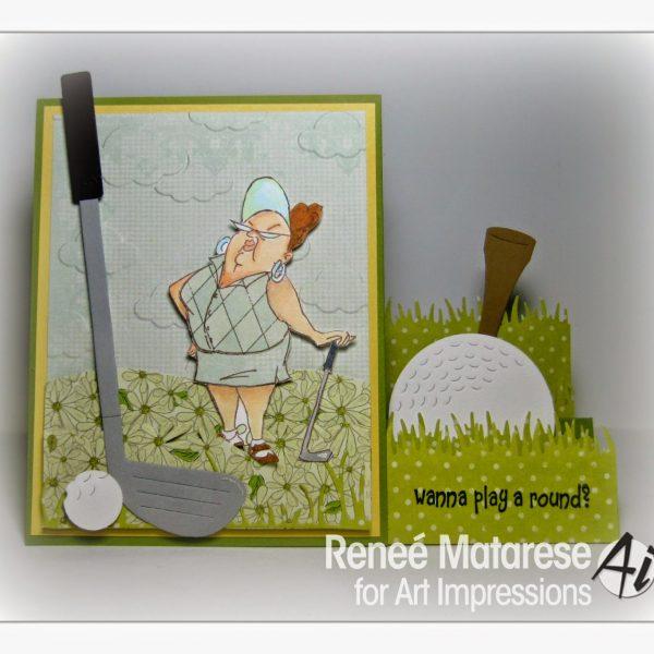 4324 - Goldie Golfer Set