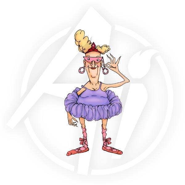 M1767 - Ballerina Eunice