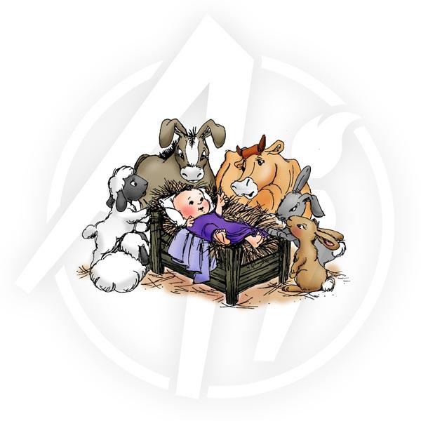 Q1591 - Animal Nativity