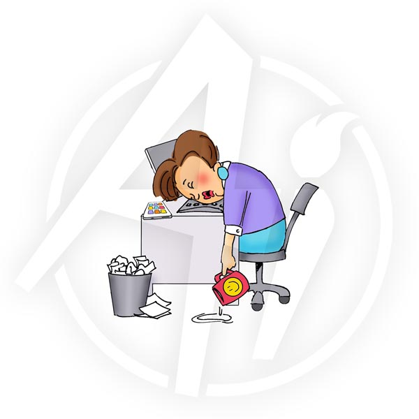Q4154 - Asleep on the Job