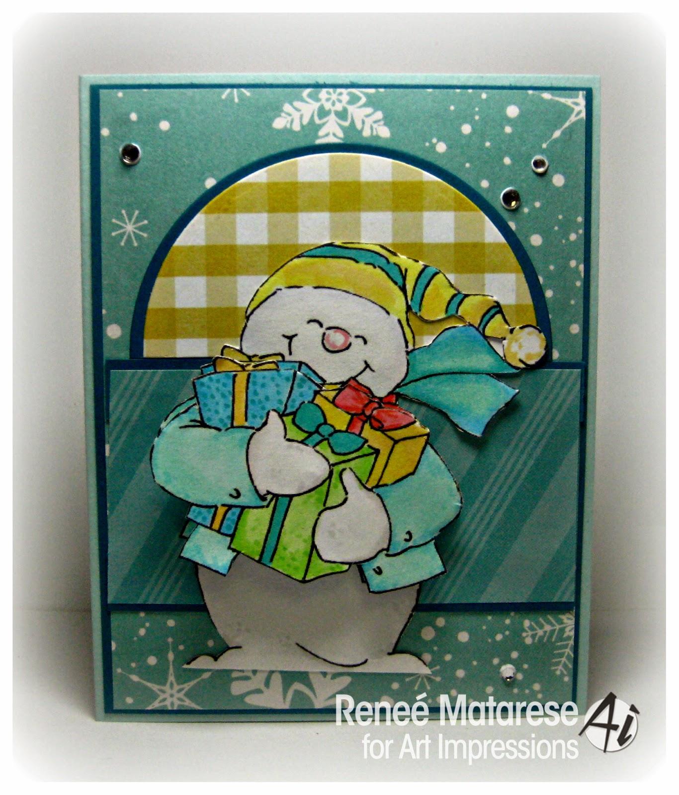 4514 - Snowman Shaker