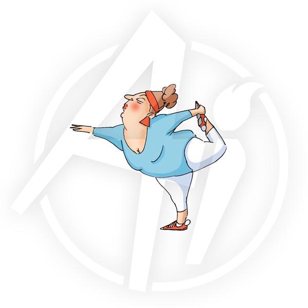 T4195 - Yoga Yolanda