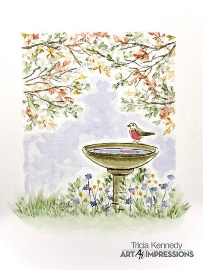 4966 - WC Bird Bath Set