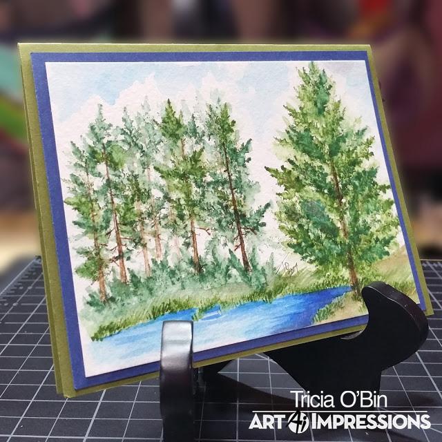 4960 - WC Fir Trees Set