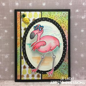 4955 - Flamingo Wiggle Wobble