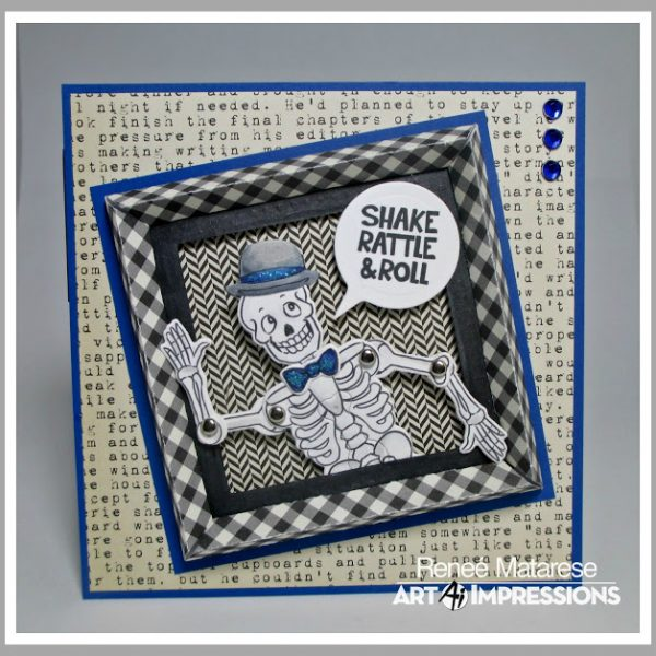 4952 - Skeleton Wiggle Wobble